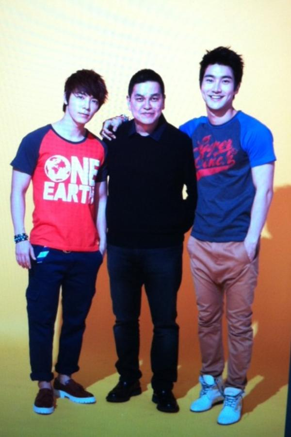 ben chan the owner of bench with the super junior idols can t wait to